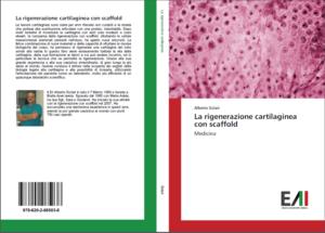 la copertina del libro sulla rigenerazione cartilaginea